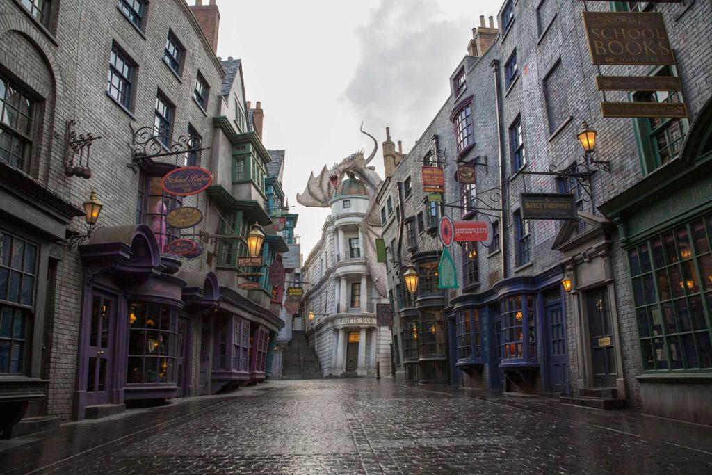 Universal Orlando's new Diagon Alley attraction is part of the much-anticipated expansion of Universal Orlando's Wizarding World of Harry Potter, which will open on July 8.