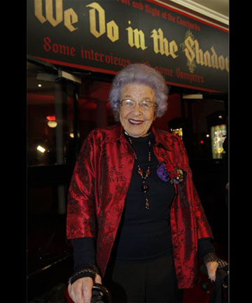 STAR: Ethel Robinson at the Wellington premiere.