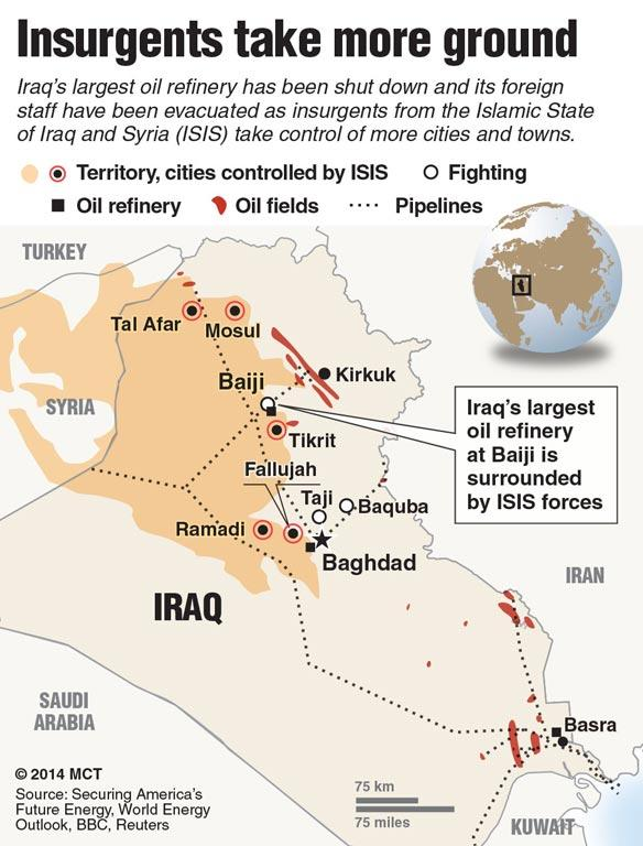 Oil is a key part of the ISIL strategy - much of their funding comes from the oil fields they control in Syria. Intelligence garnered from flash drives show that ISIL have about US$2 billion (NZ$2.3b) and loot.