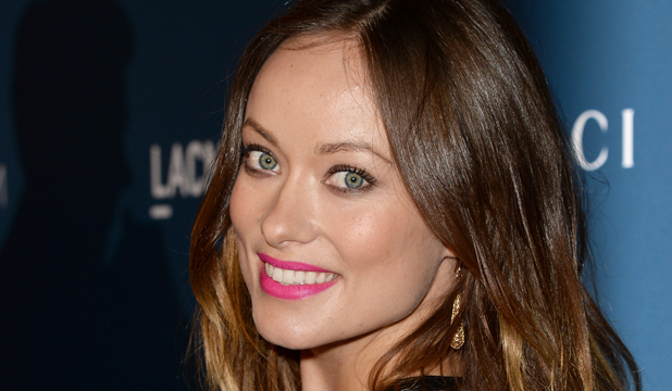 STRIPPED BARE: Olivia Wilde has stripped down for her latest role, but says it was a really silly, funny scene.