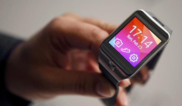 Samsung smartwatch and fitness band