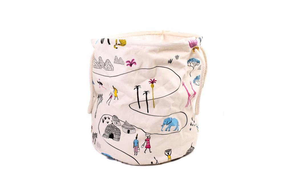 """MOZI LAUNDRY BAG SERENGETI, $69.90: I love the cuteness of this laundry bag from the Out Of Africa collection - it is just so fun and different. Even better are the strong rope handles and the size. Laundry doesn't have to be boring anymore. <a href=""""http://ikoiko.co.nz/collections/all-products-new/products/mozilaundrybagserengeti"""" target=""""_blank"""">Available at Iko Iko.</a>"""