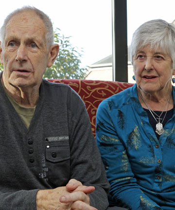 Ernie and Liz Patterson