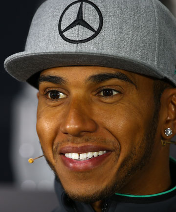 TOP ON THE CLOCK: Lewis Hamilton topped Mercedes team-mate Nico Rosberg for the best time during practice for the Austrian Grand Prix.