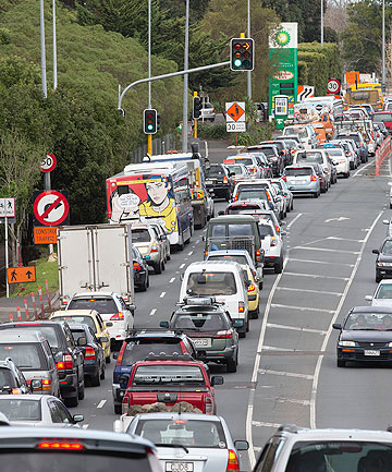 Auckland Transport has apologised for traffic chaos.