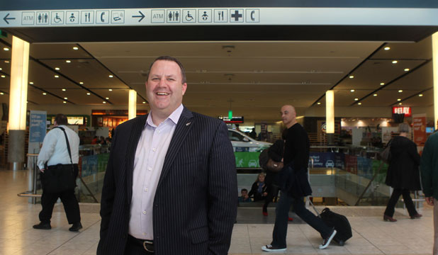 TAKING A CHANCE: Malcolm Johns, chief executive of Christchurch International Airport, is pushing a bold concept to resurrect the tourism industry here, but is unsure if the city will adopt the idea.
