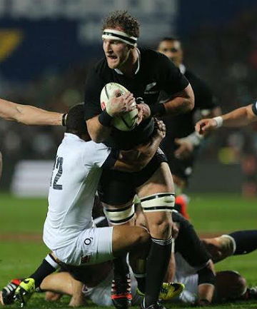 All Black No 8 Kieran Read