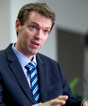 TAKING A STAND: Conservative Party leader Colin Craig will contest the East Coast Bays seat at the election.
