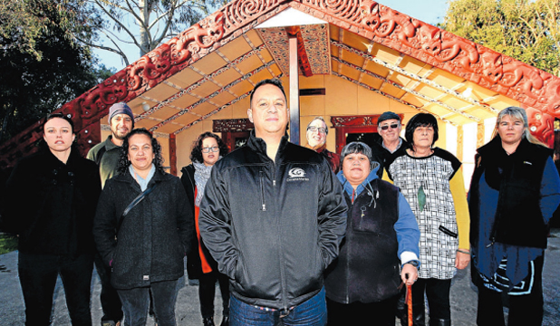 GROUP RULING: Members of Omaka Marae have defended their committee's decision to ask a couple to vacate their home on the marae.