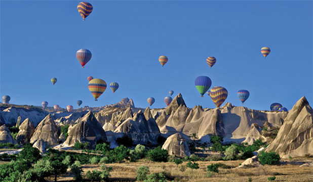 Turkish balloons