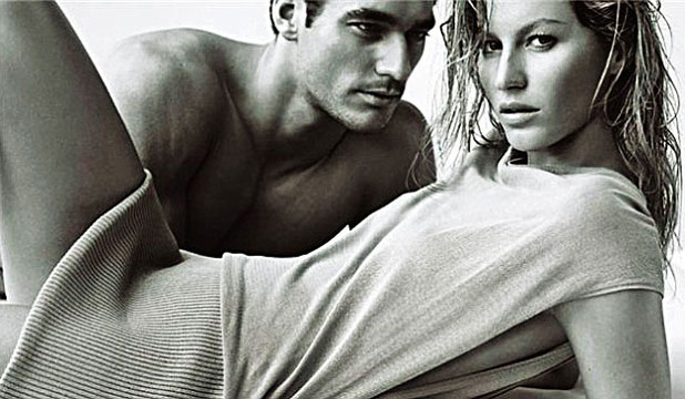 SHE'S OBLIVIOUS: Wake up and smell the sexual chemistry Gisele.