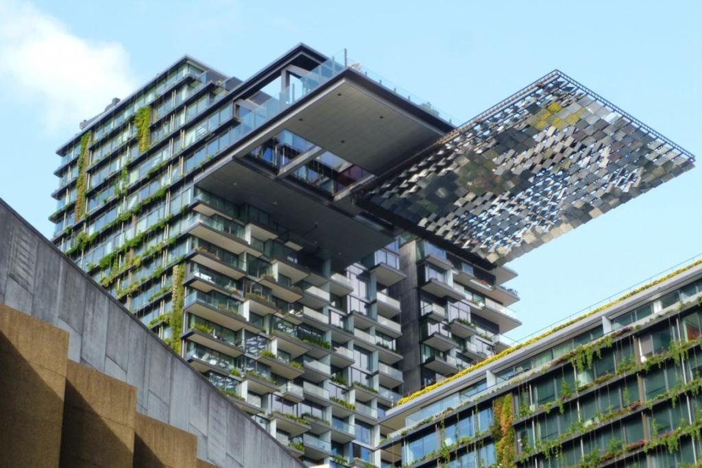 ONE OF THE BEST: One Central Park in Sydney is the Asia & Australasia winner of 2014's best tall buildings.