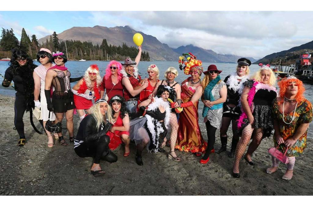 2014 Queenstown Winter Festival Drag Race