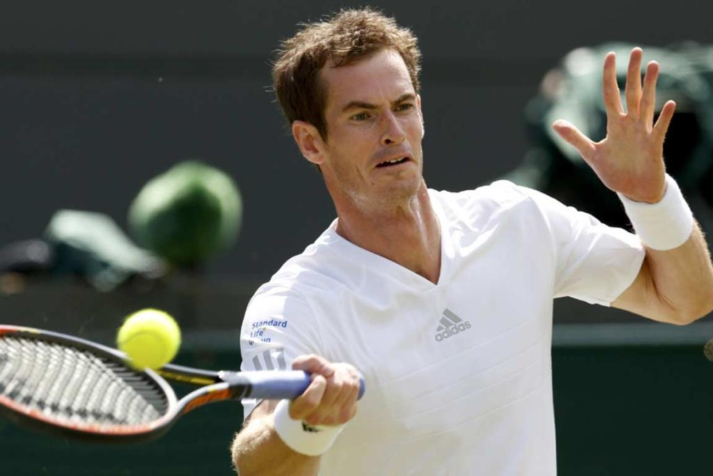 Andy Murray made quick work of Slovenian Blaz Rola in the second round, losing only two games.
