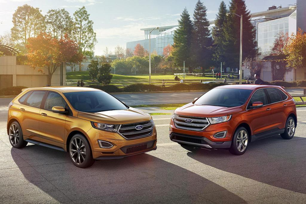 Ford Has Revealed A Production Version Of Its New Edge Suv Which Is Likely To Replace
