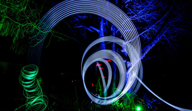 MAGICAL GLOW: This year's Light Nelson event will showcase up to 40 light installations to enchant all-comers.