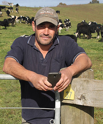 Otorohanga dairy farmer Jason Jones has developed a livestock management app.