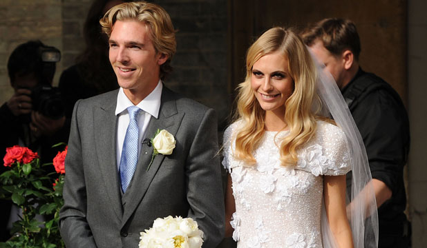 PRICEY INVITE: Sure James Cook and Poppy Delevingne's wedding would have cost them a pretty penny, but think of the guests too!
