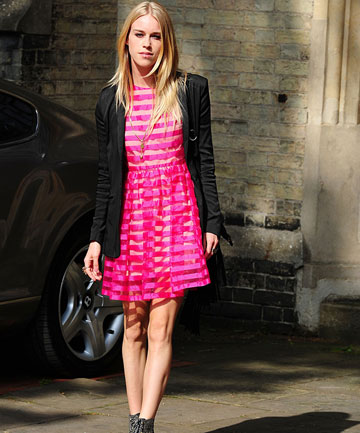 ON THE LIST: Mary Charteris attends Poppy Delevingne and James Cook's wedding.
