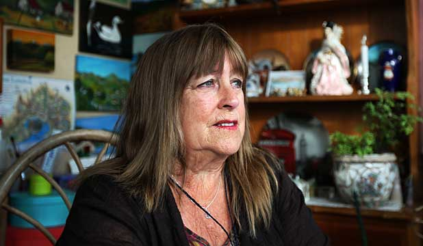 AGONY: Helen Dungey's son Warren Ritchie died at Lyttelton Port.