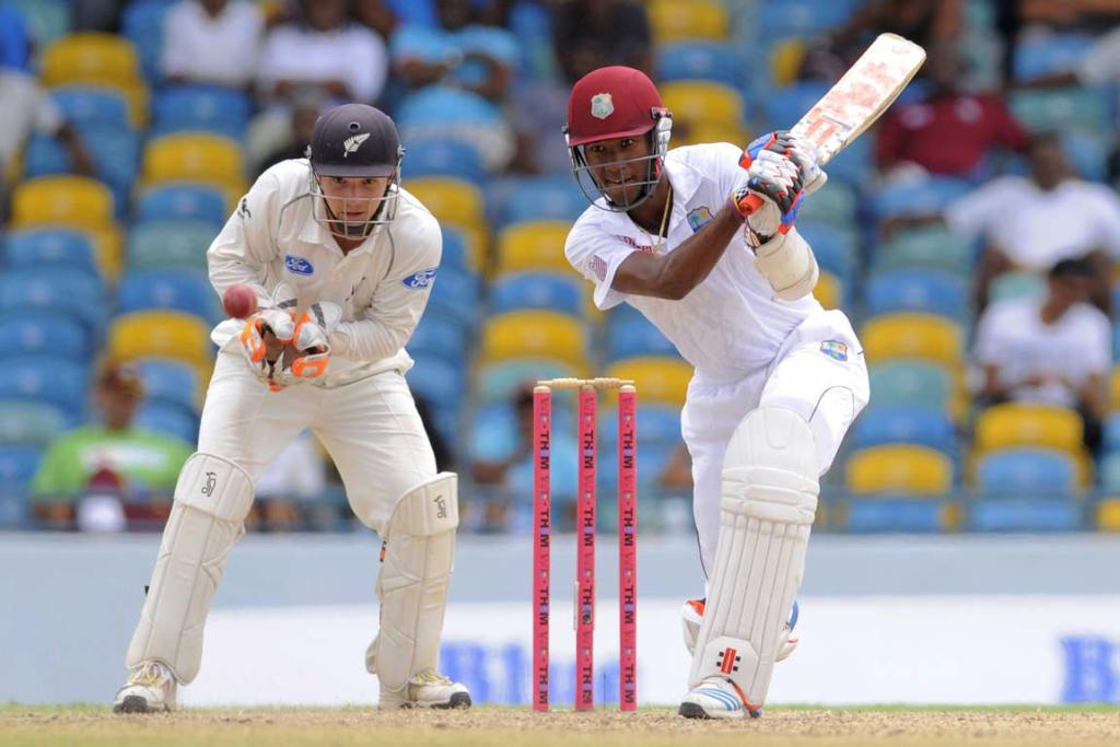 Kraigg Brathwaite and BJ Watling