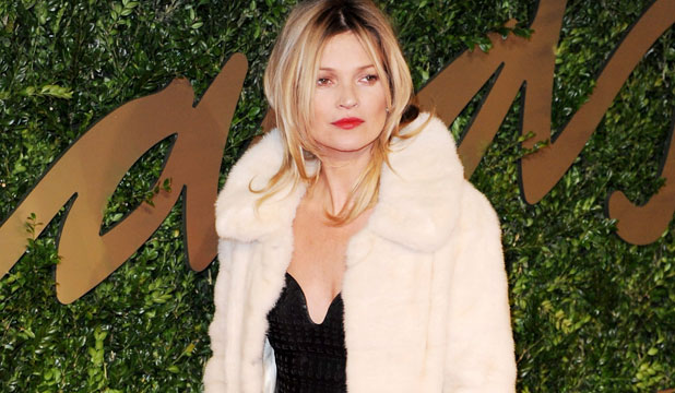 POSTER GIRL: While she may appear to be in a good shape, Kate Moss isn't exactly known for healthy habits.