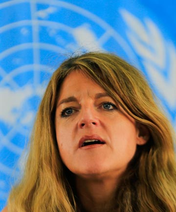 "STILL HOPEFUL: South Sudan's UN envoy Hilde Johnson says  ""the situation in South Sudan is bleak"" and time is short, but said it was not too late to resolve the crisis."