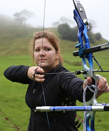 PERFECT AIM: Rachel Burge is heading to the United States after accepting a scholarship to study and train with some of the country's top archers. Her goal is to represent New Zealand at the 2020 Olympic Games in Japan.