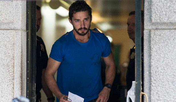 REHAB BOUND: After being charged in a New York court, Shia LaBeouf has reportedly entered rehab.