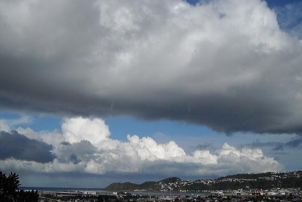 Storm clouds, Wellington, July 2