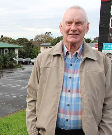 ENDLESS OPPORTUNITIES: Ralph Lavelle says he would prefer residential dwellings if a new garden centre is not possible