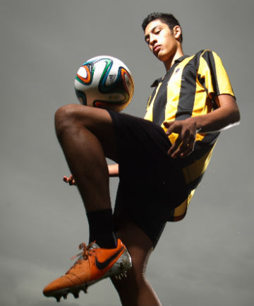 BRIGHT FUTURE: St Paul's Collegiate student Waikato Ball will be on trial with the Wellington Phoenix next week.