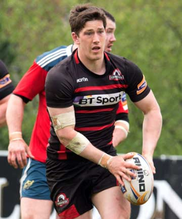 STAYING ON: Timaru's Sam Beard has re-signed for two more seasons at the Edinburgh Rugby Club in Scotland.