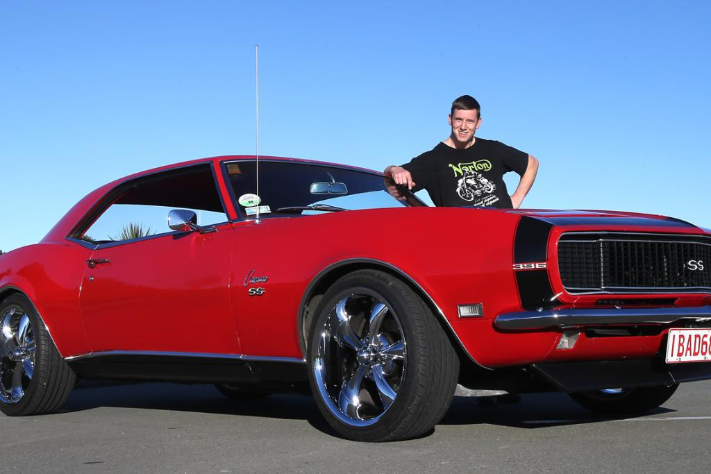 The 1968 Chevrolet Camaro RS/SS belongs to proud Timaru owner Doug James.