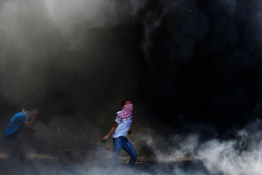By June 20, Palestinian resistance began to coalesce into protests.
