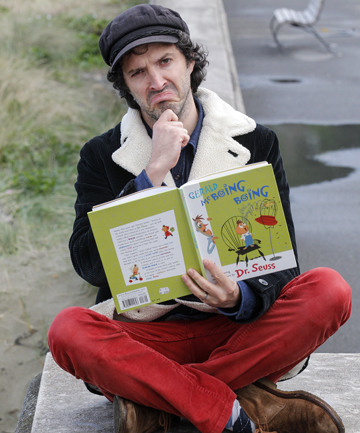 BOING BOING: Bret McKenzie is looking forward to narrating a Dr Seuss classic with music by Orchestra Wellington.