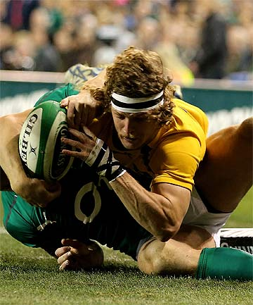 SAYONARA: Australian rugby's cult hero Nick Cummins has reportedly signed with a Japanese team.