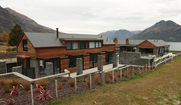 AWARD WINNER: This Queenstown house by John Gavin Construction won a clutch of awards including the Supreme Award for House of the Year.