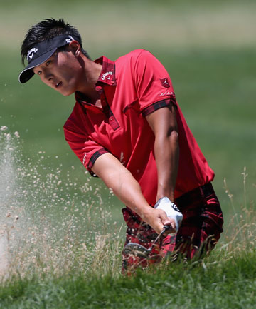 IN THE ZONE: Kiwi golfer Danny Lee had a solid final round in West Virginia to finish 16th equal at the Grennbrier Classic.