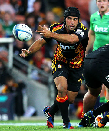 ANXIOUS WAIT: The Chiefs are sweating on the fitness of Charlie Ngatai.