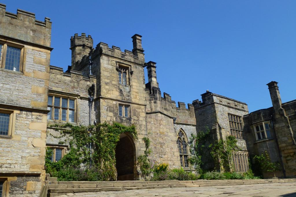Haddon Hall is one of Britain's best preserved medieval houses.