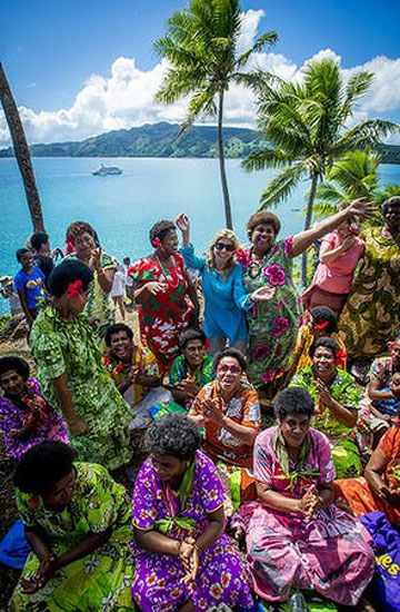 TURTLE CALLINGl Kadavu Island - one of only two places in Fiji where this ritual is performed.