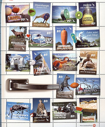 Legendary Landmarks stamps