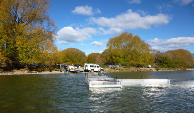 SPECIALISED TRAP: The new salmon trap at Waitaki is a significant improvement.