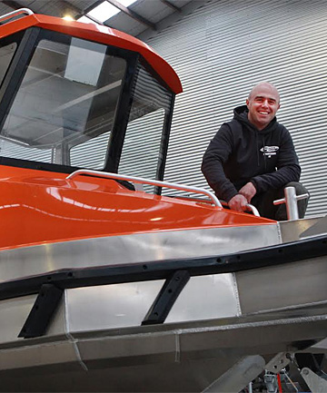 Frewza Boats owner Brendon Frew