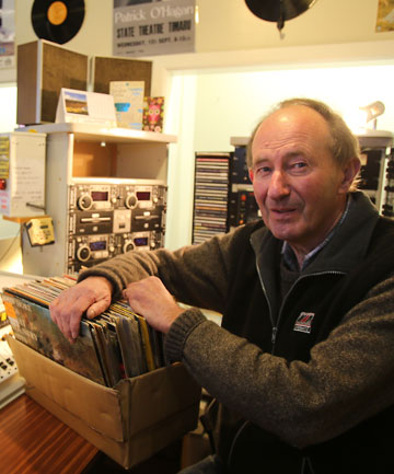 HOME HUNTINY: Hospital FM director Bryan Blanchard and the rest of the volunteer staff are looking for another interim base for the radio station.