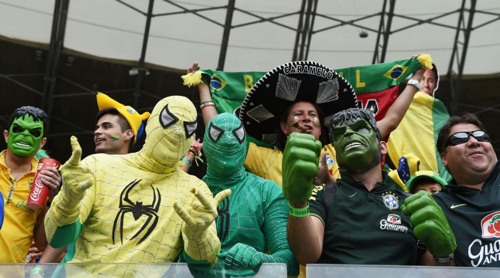 Brazil might need some superhero help to get them home after losing their own superstar Neymar.