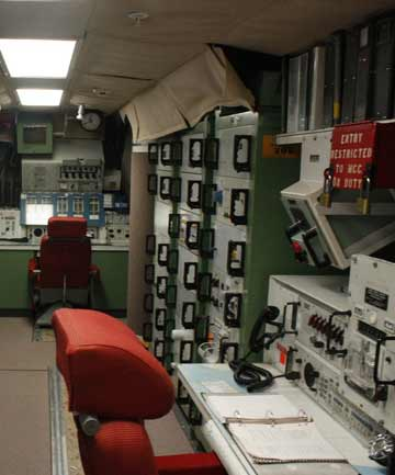 ANTIQUATED: The underground bunker in Jackson, South Dakota, where missiles would be launched from.