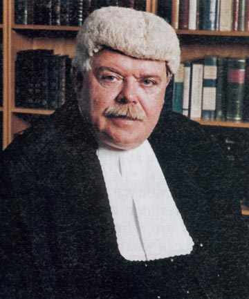 JUDGE GARRY NEILSON: Compared incest and paedophilia to homosexuality.