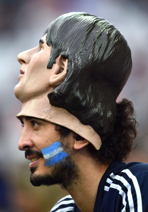 Anyone for a Messi mask?